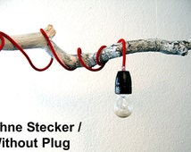 Porcelain Socket with Textile Cable in Different Colors