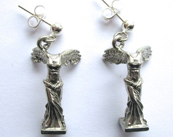 Winged Victory/Nike   Earrings Inspired by a Visit to the Louvre