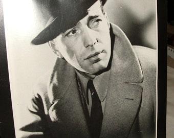 1985- Casablanca- Humphrey Bogart Poster Card Printed in England Hollywood Star print