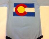 Boys Colorado Flag Onesie- Baby Onesie- Baby Gift- kids...