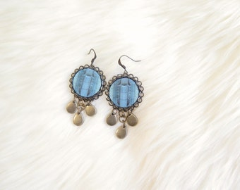 Deco Window Round Earrings - DTLA Collection - by Loschy Designs Loschy