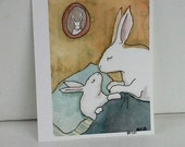 Good Night Kiss - Small Archival Fine Art Print