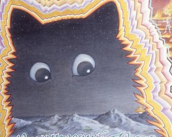 Fine Art Print | Cosmic Cat | Painting by David Birkey