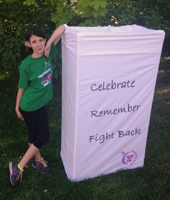 BIG Luminaria for Relay for Life or Holiday PDF Tutorial