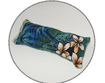 Catnip Cat Toy - Kick Stick - Blue Hawaiian Upcycled Recycled