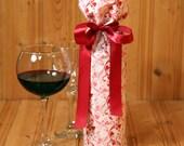 Wine Bag with Heart Swirl