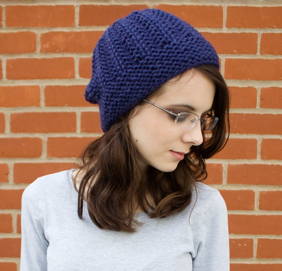 Women s Beanie Knitting Pattern : Instant Download Knitting Pattern Knit Beanie Pattern Knit