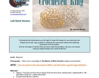 Crocheted Ring (left hand version)