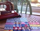 """20 - 3"""" Vintage Precut Charms 1930s-40s Cottons - Quilt Squares"""