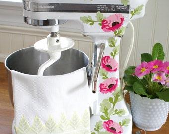 Poppies Kitchenaid Decals Pink