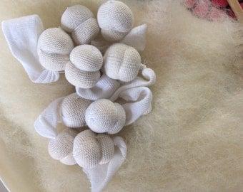 Doll Head Handmade Wool 3.5 circumference Waldorf Nature Table Cloth Felt Doll Supplies