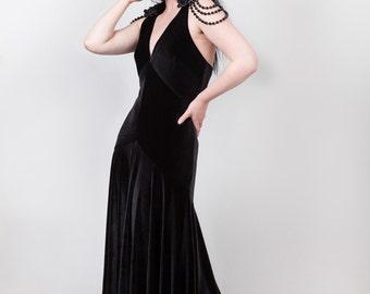 1920s Hollywood Glamour Dress. Sizes 6 - 24