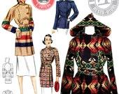 E-Pattern 1930s Ahwahnee Coat- Blanket Coat Pattern- Wearing History PDF Vintage Sewing Pattern