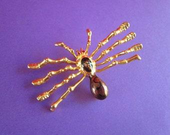 SALE Vintage Spider Brooch