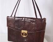 Vintage Cobra Kelly Bag Purse and Wallet 1950s Handbag