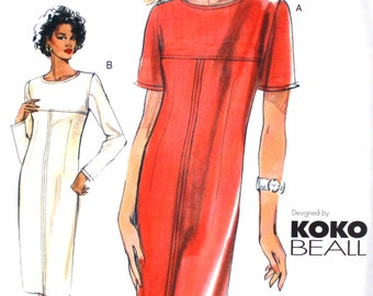 UNCUT Koko Beall Dress Pattern Bust 30.5 - 32.5