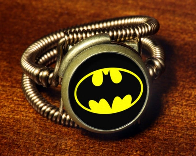 Steampunk Jewelry - Ring - Batman