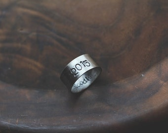 Graduation: custom senior grad (unisex- pick your school year) - class ring
