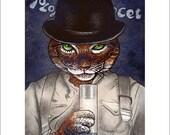 A Clockwork Orange Tabby-  8 x10 signed print