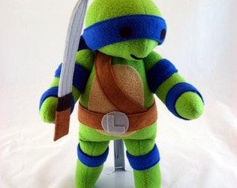 Cuddly Plush Turtle Leader
