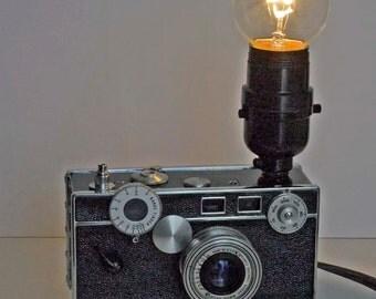 Argus Camera Lamp Photography Photographer Steampunk Lamp