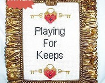 PDF/JPEG Playing For Keeps (Pattern)