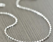 Unisex Sterling silver bracelet 7 inch 1.8mm Diamond Cut design, Made in Italy