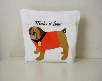 SALE Small Panel - Make it Sew - Dog