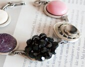 Dina -  bracelet with vintage treasures