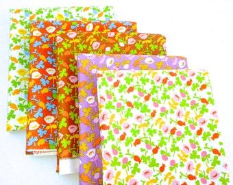 Briar Rose Cotton Fabric by Heather Ross, Calico Fat quarter set of 5