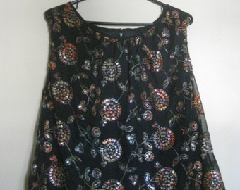 Vintage Sequined Tanktop The Kohler Collection