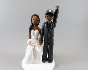 Wedding Cake Topper - Custom Made Bride & Groom