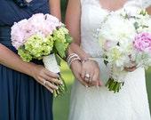 Jeweled Statement Bridal Sashes Hand Beaded Wedding Sash Pearl Rhinestone