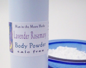 Body Powder - Lavender Rosemary, Talc Free