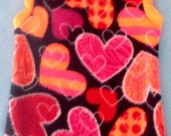 NEON Hearts - Sphynx Cat Body Sock