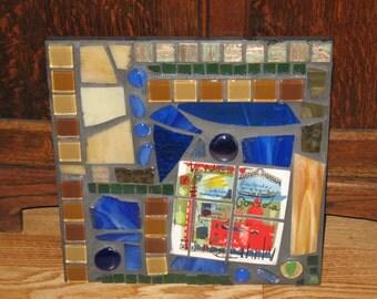 SALE - Venice Mosaic Plaque
