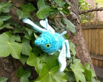 Dragonfly Crochet Pattern- crochet dragonfly - bug crochet pattern - amigurumi dragnofly - toy dragonfly - stuffed dragonfly
