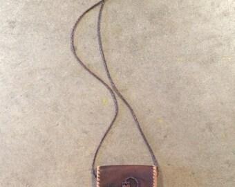 The Vintage Leather Pouch Purse