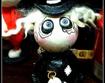 Made to order Grimmy witch doll