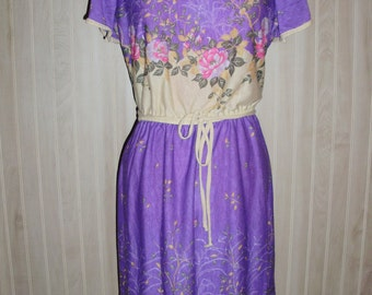 Vintage SEARS Dress by BURLINGTON STUDIO Prints