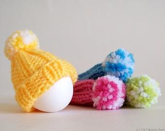 Knitting PATTERN, Easter Egg Cozy Pattern, Knitting Patterns, Egg Warmer Pattern, Egg Cosy, Egg Cozies, Egg Hat Pattern, Kitchen Decor