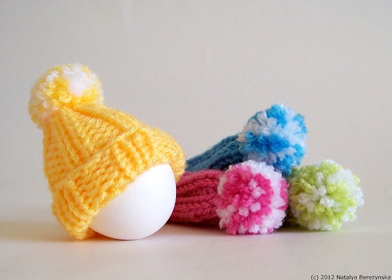 Knitted Easter Eggs Free Patterns : Knitting PATTERNS Easter Eggs Egg Cozy Pattern Egg by Natalya1905