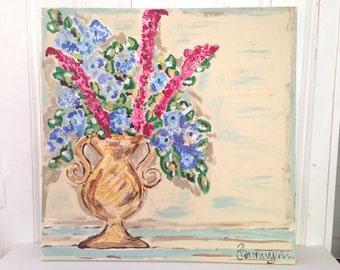 SAMPLE SALE - Floral Original Painting - Bronwyn  Hanahan Art