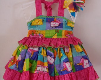 Girls Two Piece Boutique Pageant Casual Wear, Theme Wear, Outfit of Choice Birthday Theme Outfit