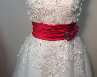 Couture Handmade  Wedding / Party Dress