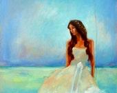 11 x 14 Ocean Goddess Print / Artwork by Sherri Lemire