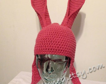 Bunny Rabbit Hat  ~  Made-to-order