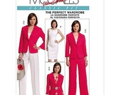 Sew & Make McCall's M5818 SEWING PATTERN - Womens Wardrobe Dresses Jackets Pants sz 4-10