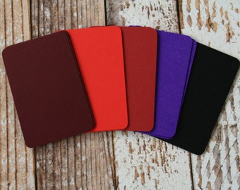 200pc WINTER Colours Lakeland Series Business Card Blanks