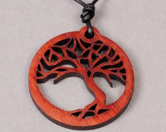 Bonsai Pendant - Bonsai Necklace - Tree Pendant - Tree Necklace - Wood Pendant - Wood Necklace